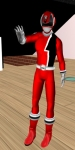 Sebastian Miachelis as a SPD Power Ranger