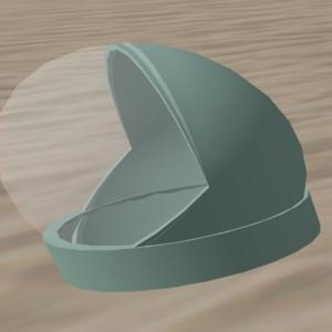 3-prim Space Helmet