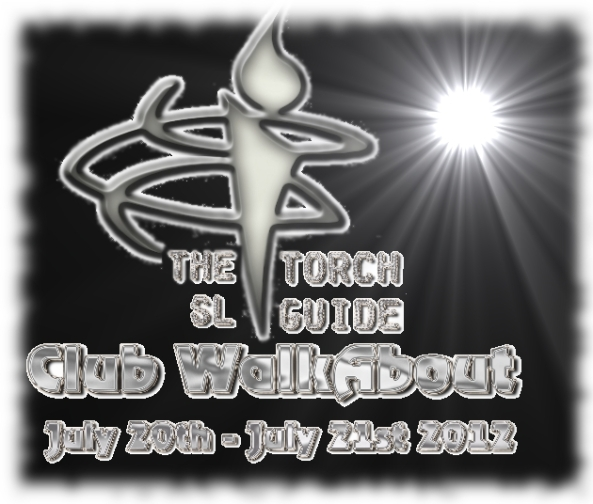 The logo for the torch sl guide club walkabout