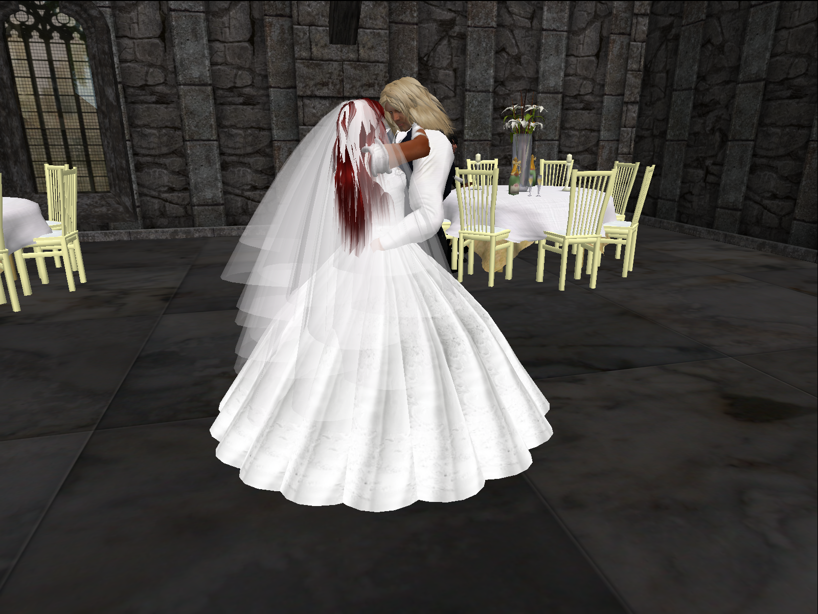 Here Comes the Bride: An SL Wedding | The Torch Entertainment Guide