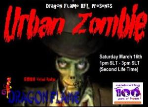 Urban Zombie RFL Poster