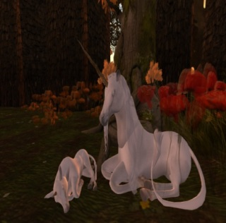 Unicorns Grazing in Requiem