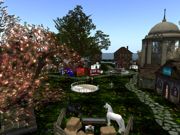 The welcome area of Avilion
