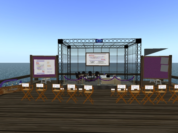 Relay Rap Stage