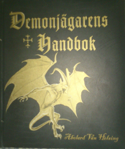 The front cover of Demonhunters Handbook