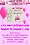 2014 Making Strides Against Breast Cancer Across Second Life Kick Off Info &Details!