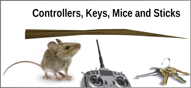 Controllers, Keys, Mice and Sticks